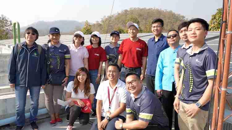 GPSC จับมือ Thaioil ติดตั้งระบบไฟฟ้าพลังงานแสงอาทิตย์บนหลังคา รพ.ธัญญารักษ์แม่ฮ่องสอน