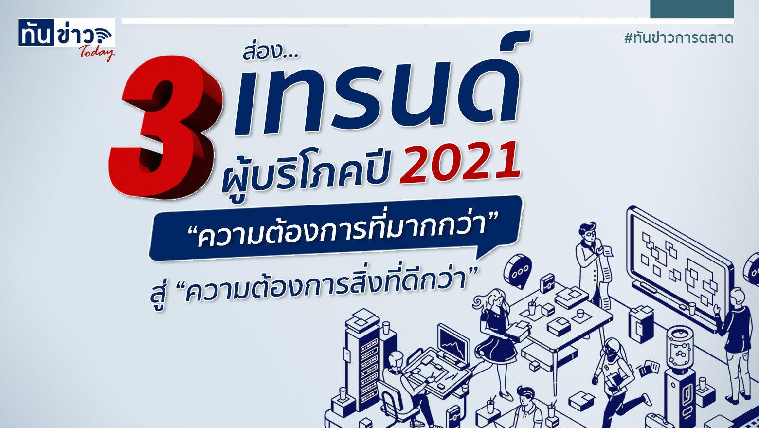 ส่อง 3 เทรนด์ผู้บริโภค ปี 2021