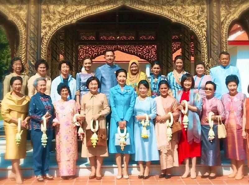 ร้อยเรียงเรื่องราว กิจกรรมต้อนรับคณะคู่สมรสผู้นำประเทศสมาชิกอาเซียนและประเทศคู่เจรจา