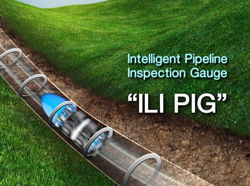 ILI PIG   ความปลอดภัยท่อก๊าซ บมจ. ปตท.