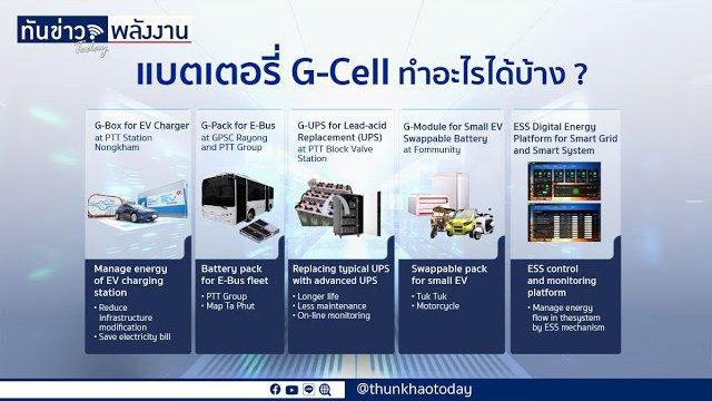 GPSC เปิดโรงงานผลิตหน่วยกักเก็บพลังงาน G-Cell ด้วยเทคโนโลยี SemiSolid แห่งแรกในเอเชียตะวันออกเฉียงใต้